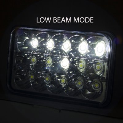 Chevy Suburban 1981-1988 Full LED Seal Beam Headlight Conversion Low and High Beams