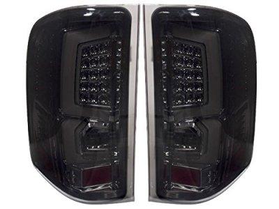 Chevy Silverado 2007-2013 Custom LED Tail Lights Smoked