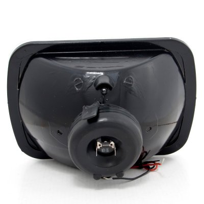 GMC Safari 1986-2004 Red Halo Sealed Beam Headlight Conversion