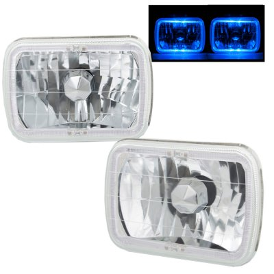 1994 GMC Safari 7 Inch Halo Sealed Beam Headlight Conversion