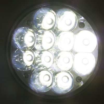 1969 Pontiac Bonneville Full LED Seal Beam Headlight Conversion Low and High Beams