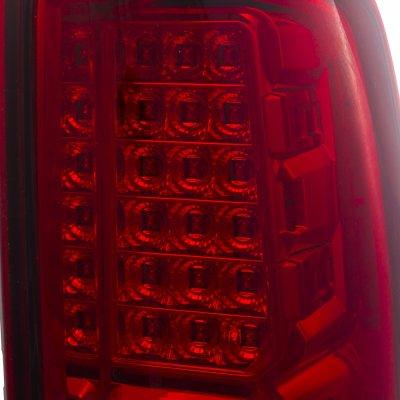 GMC Yukon 2000-2006 LED Tail Lights Red Clear
