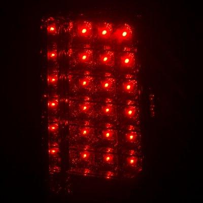 2006 GMC Suburban LED Tail Lights Smoked