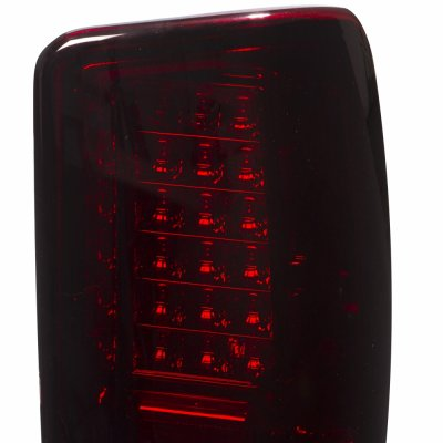 GMC Yukon XL 2000-2006 LED Tail Lights Red Smoked