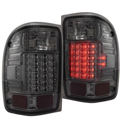 Ford Ranger 2001 2005 Led Tail Lights Smoked A141pfsu109