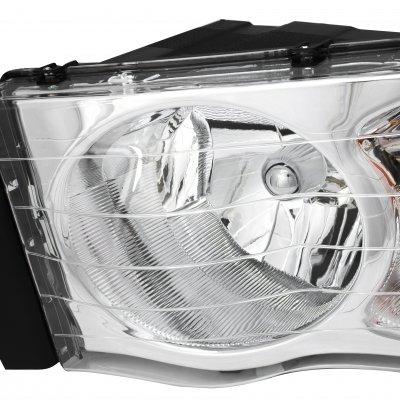 Dodge Ram 2002-2005 Chrome Headlights