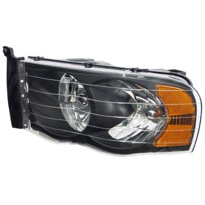Dodge Ram 2002-2005 Black Headlights