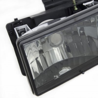 GMC Suburban 1992-1999 Smoked Euro Headlights
