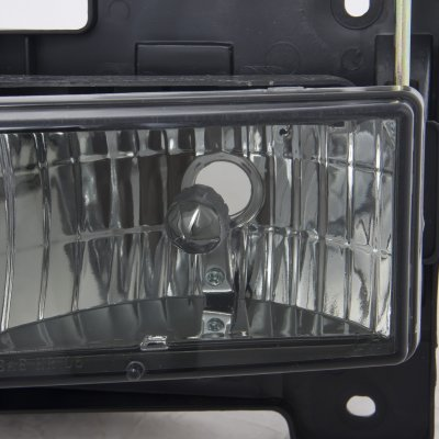 GMC Yukon 1992-1999 Smoked Euro Headlights