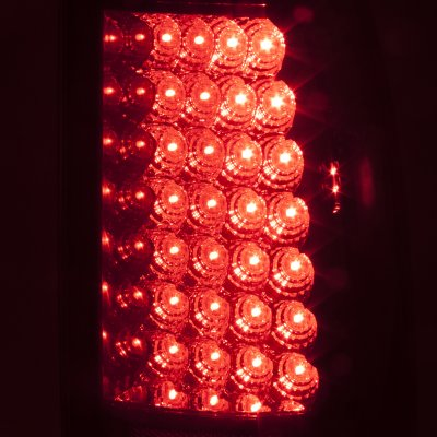 Chevy Silverado 2003-2006 Smoked LED Tail Lights