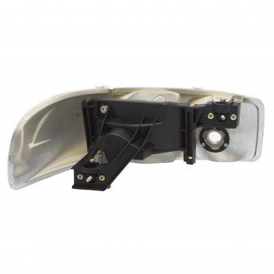 GMC Sierra 1999-2006 Black Headlights