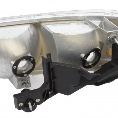 GMC Yukon 2000-2006 Black Euro Headlights