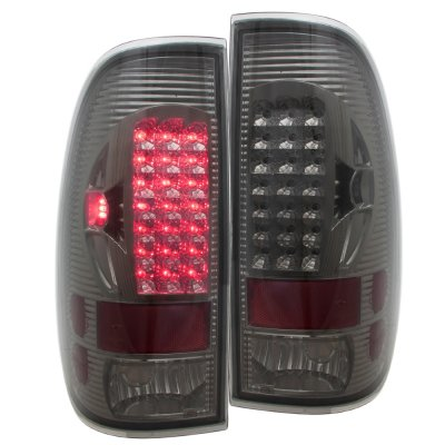 Ford F150 1997-2003 Smoked LED Tail Lights