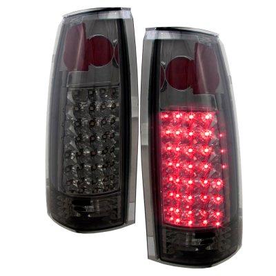 Chevy Silverado 1994-1998 Smoked Headlights and LED Tail Lights