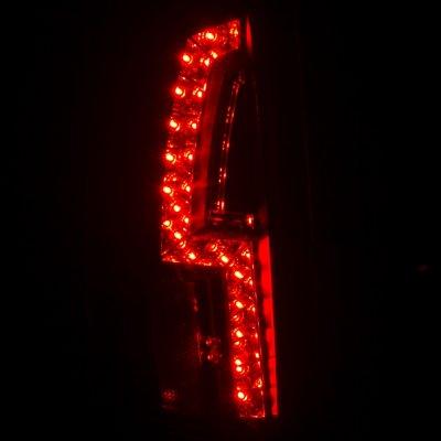 Chevy 2500 Pickup 1988-1998 Black Custom LED Tail Lights