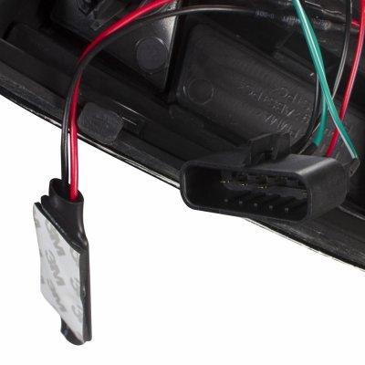 Chevy 2500 Pickup 1988-1998 Chrome Custom LED Tail Lights