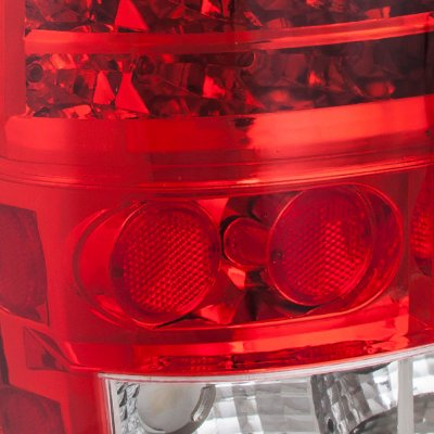 GMC Yukon 2000-2006 Red LED Tail Lights