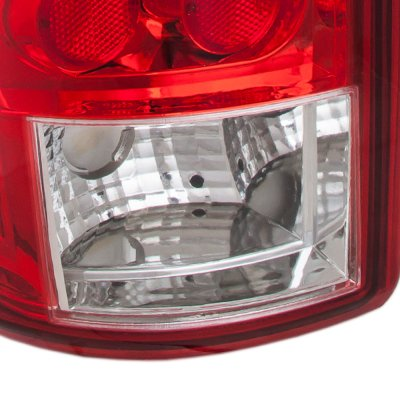 GMC Yukon XL 2000-2006 Red LED Tail Lights