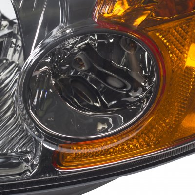 Honda Civic 2001-2003 Smoked Euro Headlights