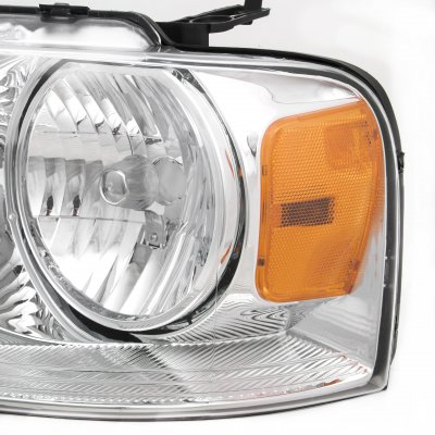 Ford F150 2004-2008 Clear Euro Headlights