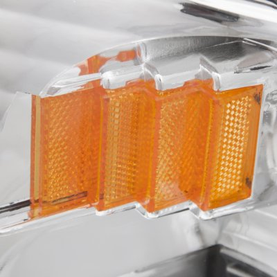 Ford F150 1997-2003 Chrome One Piece Headlights
