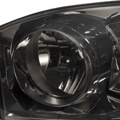 Dodge Ram 2500 2006-2009 Smoked Euro Headlights