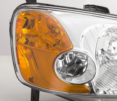 Honda Civic 2001-2003 Clear Euro Headlights