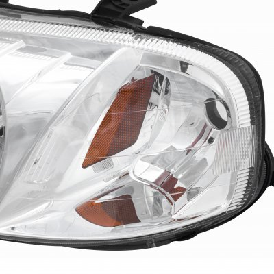 Honda Civic 1999-2000 Clear Crystal Euro Headlights