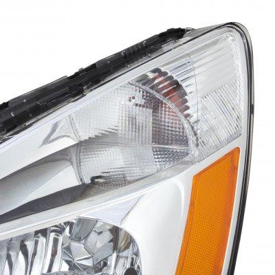 Honda Accord 2003-2007 Clear Crystal Euro Headlights