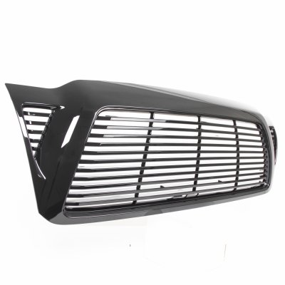 toyota tacoma 2005 2009 black billet grille a137pllw259. Black Bedroom Furniture Sets. Home Design Ideas