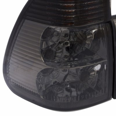 2005 BMW X5 E53 Smoked Clear Euro Tail Lights