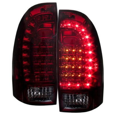 2005 toyota tacoma black headlights and tinted custom led. Black Bedroom Furniture Sets. Home Design Ideas