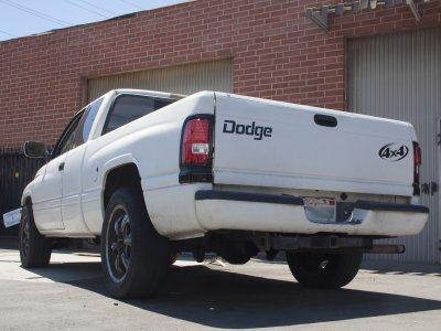 1999 dodge ram 2500 black headlights with led corner. Black Bedroom Furniture Sets. Home Design Ideas