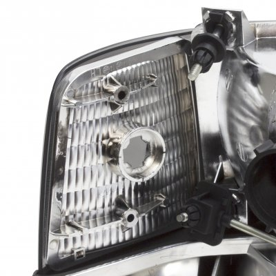 Ford F150 1992-1996 Smoked Headlights and Bumper Lights Set