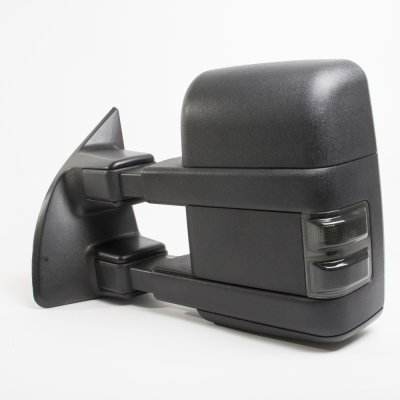 Ford F250 Super Duty 2008-2016 Towing Mirrors Power Heated Smoked LED Signal
