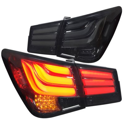 Chevy Cruze 2011 2015 Smoked Led Tail Lights A137fqwn109