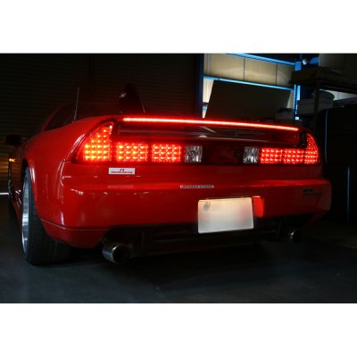 2000 Acura NSX Red and Clear LED Tail Lights
