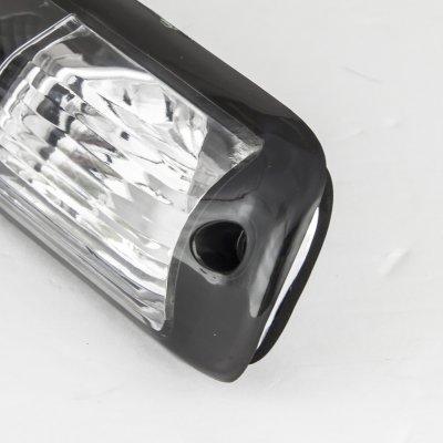 Chevy Silverado 1999-2006 Black LED Third Brake Light