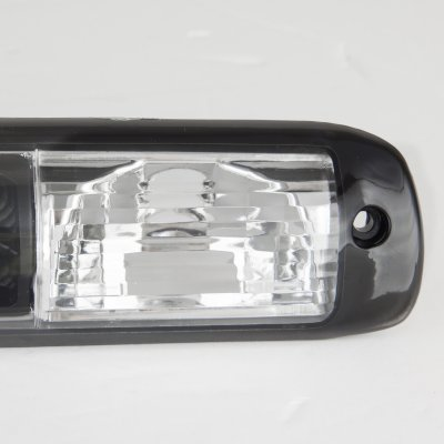 GMC Sierra 1999-2006 Black LED Third Brake Light