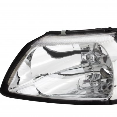 Ford Mustang 1999-2004 Clear Crystal Headlights