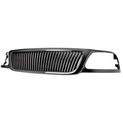 2002 Ford F150 Black Vertical Grille