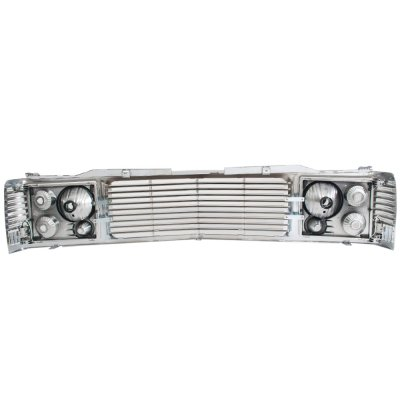 Chevy Tahoe 1995-1999 Chrome Billet Grille and Headlight Conversion Kit