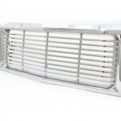 GMC Suburban 1994-1999 Chrome Billet Grille and Headlight Conversion Kit