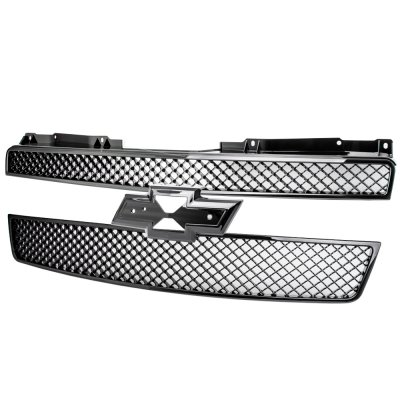 Chevy Tahoe 2007-2014 Black Mesh Grille