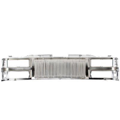 1994 Chevy 1500 Pickup Chrome Vertical Grille