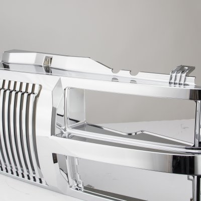 Chevy Suburban 1994-1998 Chrome Vertical Grille