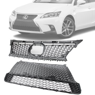 Lexus Ct 200h 2014 2016 F Sport Mesh Spindle Grille