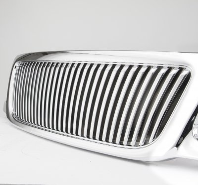 Ford F150 1999-2003 Chrome Vertical Grille