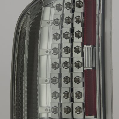 Chevy Silverado 2007-2013 Smoked LED Tail Lights