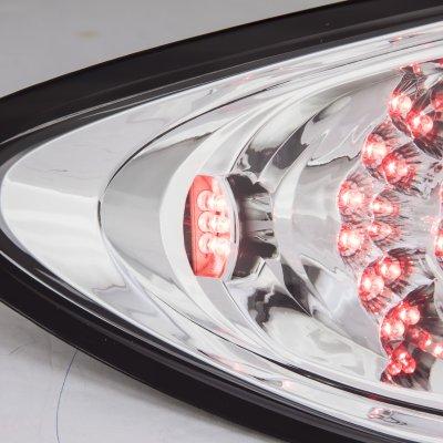 Mazda 6 Sedan 2003-2008 Clear LED Tail Lights